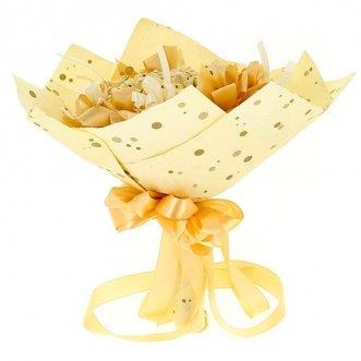 Букет из 15 конфет «Осенний вальс»