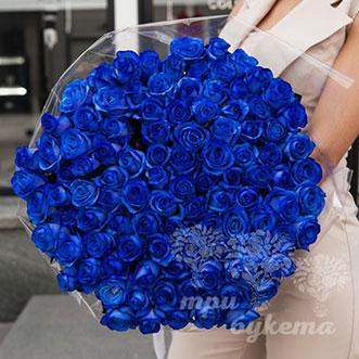 101 синяя роза (Premium)